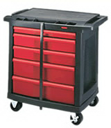 View: Rubbermaid 7734-88 5-Drawer Mobile Work Center